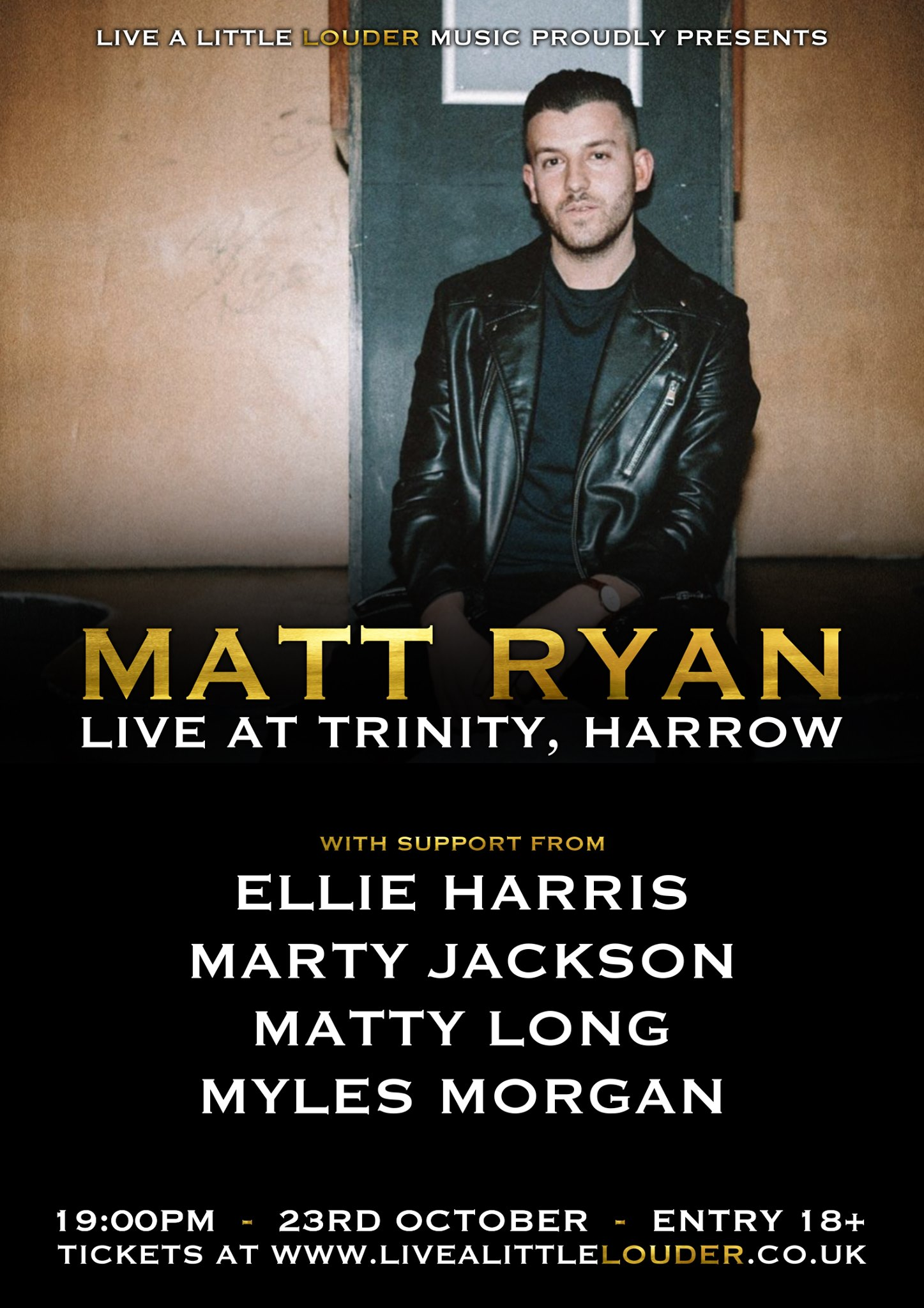 Matt Ryan//Marty Jackson//Ellie Harris//Matty Long//Myles Morgan